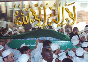 Salaat ul-janaza [Funeral service] of Sayyid Muhammad ibn Alawi Al Maliki, The Grand Mosque in Mecca, October 2004
